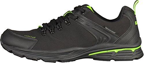 KILLTEC - Artali - Unisex Softshell Outdoorschuhe - Schwarz Schuhe in Übergrößen Schwarz