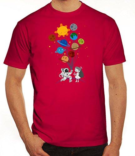 Geschenkidee Herren T-Shirt mit Valentine Love Motiv von ShirtStreet Sorbet