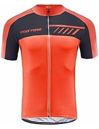 Uglyfrog Ciclismo Jersey Hombres Bicicleta Ropa Camiseta de la Bicicleta Top MTB Jersey Manga Corta DXMZ06