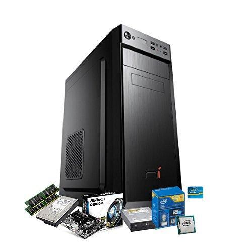 Pc desktop intel quad core hd 1tb/ram 8gb/hdmi/usb 3.0 pc fisso completo assemblato sistema operativo windows