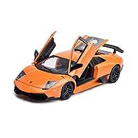 Serie di auto: autoTipo di giocattolo: giocattolo in legaTipo di modello: prodotto finitoNome auto: Lamborghini LP670-SVRapporto: 1:24Materiale: lega di zinco, plasticaFormato del prodotto: 21 * 8.5 * 4 cmPrestazioni del prodotto: doppia porta può es...