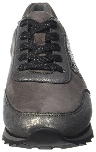 Gabor Damen Casual Derbys Grau (Carbone/Dark-Grey)