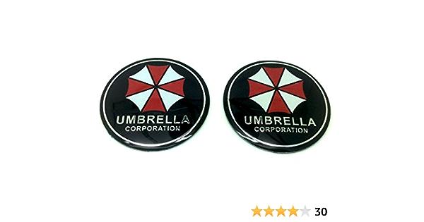 Paar Umbrella Corporation Resident Evil Auto Aufkleber Abzeichen Decal Sport Freizeit