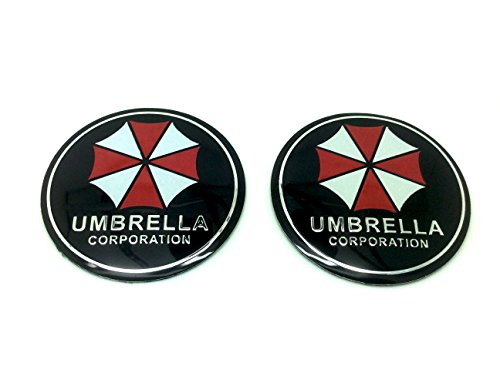 Preisvergleich Produktbild Paar Umbrella Corporation Resident Evil Auto Aufkleber Abzeichen Decal