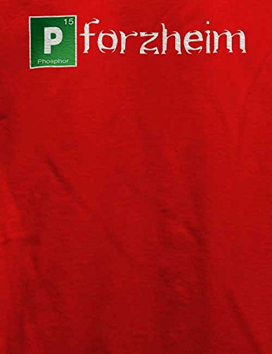 Pforzheim T-Shirt Rot