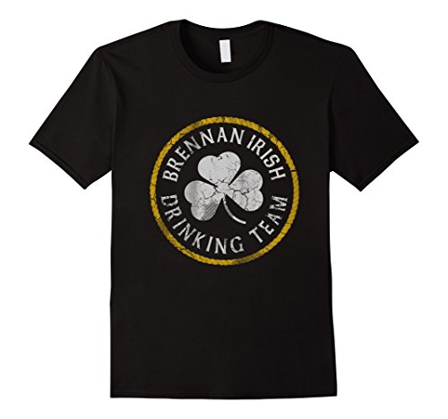 brennan-irish-drinking-team-shirt-herren-grosse-2xl-schwarz