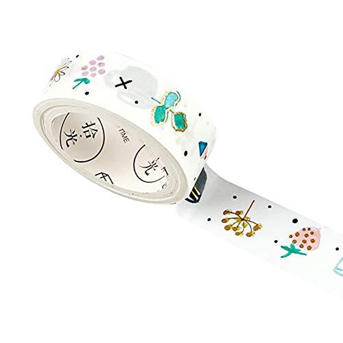 Leisial Washi Tape - Dekoband Masking Tape Scrapbooking Tape DIY Bänder für Kinder und Geschenke Verpackung Album Tagebuch Halloween, Thanksgiving Day, Weihnachten 3