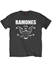 Ramones 1974 Eagle - Camiseta manga corta para hombre