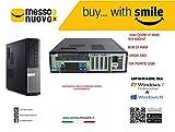 Dell optiplex 990 INTEL CORE I7 @3.40GHZ 8GB RAM 128GB SSD WINDOWS 10 PRO (RICONDIZIONATO CERTIFICATO)