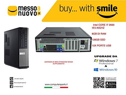 Dell optiplex 990 INTEL CORE I7 @3.40GHZ 8GB RAM 128GB SSD WINDOWS 10 PRO