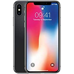 Apple iPhone X - Smartphone con pantalla de 14,7 cm, 64 GB, Gris espacial