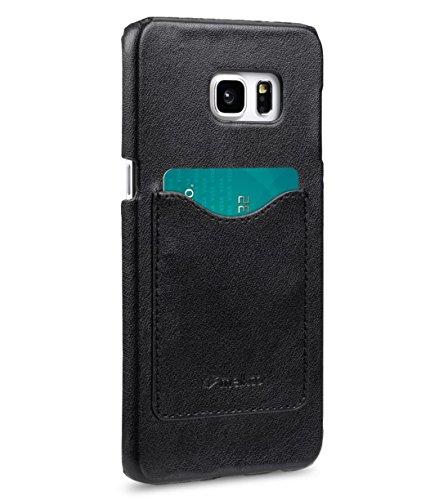 Apple Iphone 6S Plus/6 Plus Melkco Mini-Card-Slot-Abdeckung zurück mit 1-Kartenslot mit PU-Handcrafted Guter Schutz, Schlank, Premium-Gefühl Klassische Vintage schwarze PU 4