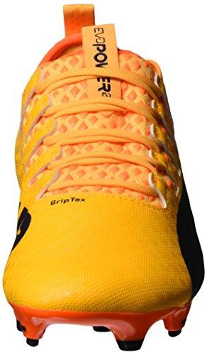 Puma Evopower Vigor 2 Fg, Chaussures de Football Homme Orange (Ultra Yellow-Peacoat-Orange Clown Fish 04)