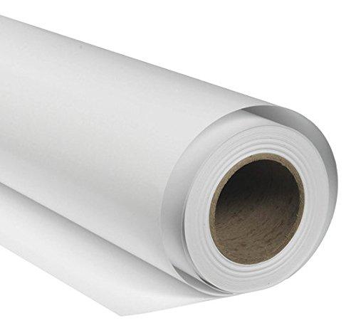 BRESSER SBP08 Fond de Studio Papier sur Rouleau 1,36x11m Blanc...