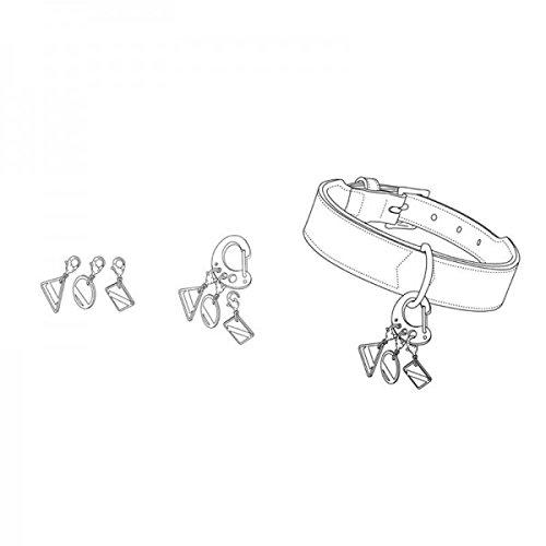 Hunter Design Snap Haken Edelstahl, klein, silber