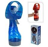 Neuen handgeführten Batterie Gebläseluft Wassernebel Flasche Kältespray (blau)