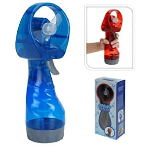 New Portable Hand Held Battery Power Fan Air Water Mist