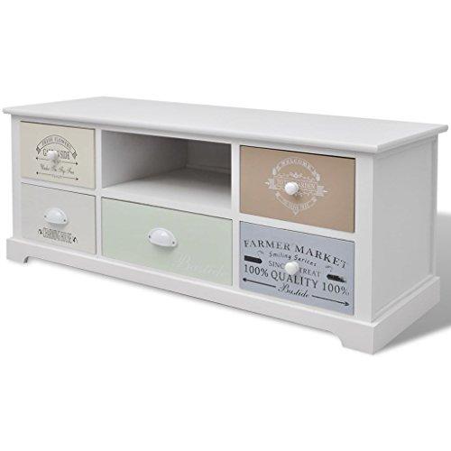 Tuduo mobile tv francese shabby chic in legno design elegante e unico mobile porta tv porta tv moderno