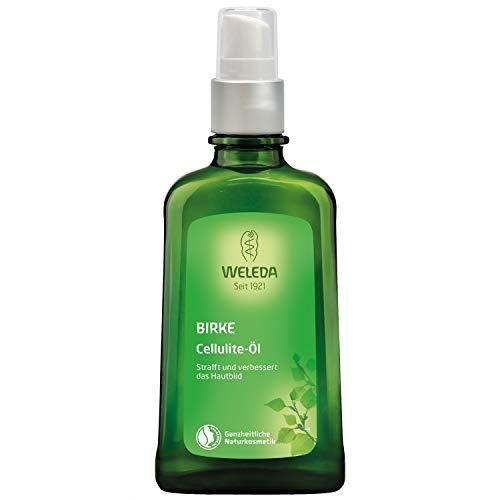 WELEDA Birken Cellulite-Öl, straffendes Naturkosmetik Körperöl für neue Spannkraft und glatte Haut, Wirkung dermatologisch bestätigt und mit angenehmem Duft (1 x 100 ml) -