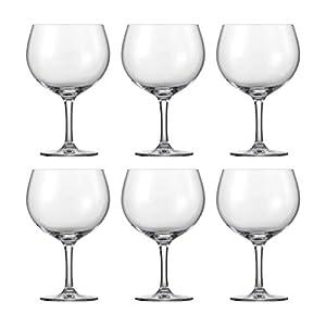 Schott Zwiesel 118741 Gin Tonic Gläser, Glas, transparent, 6 Einheiten