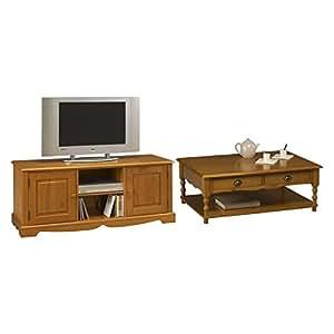 Beaux meubles pas chers ensemble table basse et meuble for Meuble tv table basse ensemble