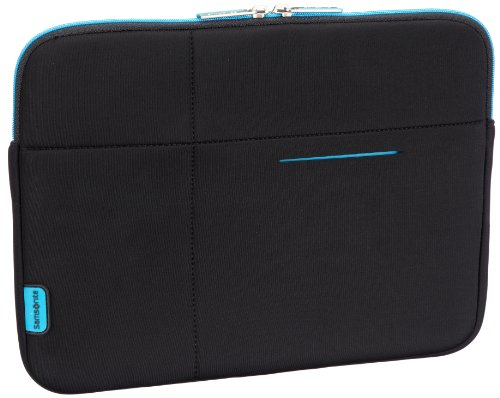 "Samsonite Airglow Sleeves Laptop Sleeve 13.3"" Trolleys para portátiles, 25 cm, Negro (Negro)"