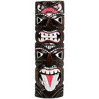 Hawaii legno maschera decorazione maschera da parete motivo: maschera Isola di Pasqua Kauai Maui 50cm, Hawaii maschera: nr81 - Tiki Bar Della Decorazione Della Parete