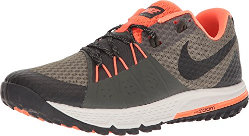 Nike Gore Tex (Nike Herren Air Zoom Wildhorse 4 Laufschuhe, Grün (Olive Moyen/Cramoisi Total/Séquoia/Noir 208), 45 EU)