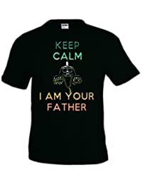Camiseta Star Wars - Keep Calm i am your father (Talla: TALLA-XXL)