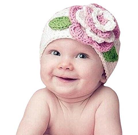 Bonjouree Fleur mignonne Bébé Enfant Bébé Enfant Fille chaud Chapeau casquette