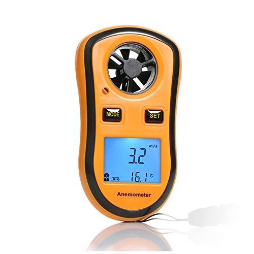 Anemómetro Digital Sensor de Velocidad del Viento dirección del Viento anemómetro...