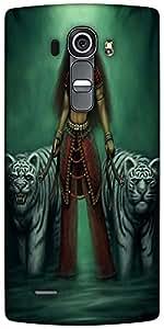 Snoogg Indian Gothic Goddess 2871 Designer Protective Back Case Cover For LG G4