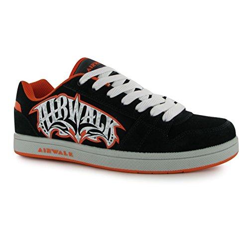 airwalk-baskets-mode-pour-garon-noir-noir-orange-taille-unique-noir-37-cm