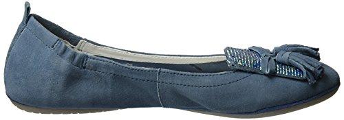 Bugatti J06783G, Ballerine Donna Blu (Jeans 455)