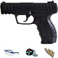 PACK Pistola de aire comprimido Daisy 426 - Arma de CO2 balines BBs (perdigones de acero) <3,5J