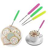 Wetrys 6PCS Anreißnadel Nadel Modellierwerkzeug Markieren Mustern Zuckerguss Sugarcraft Kuchen dekorieren Farbe zufällige von