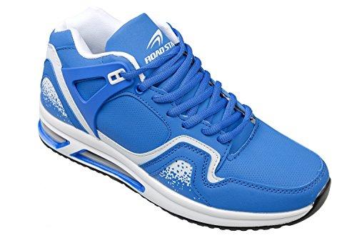 Gibra ® homme très légère et confortable, bleu roi/blanc taille 41 à 46 Bleu - Bleu