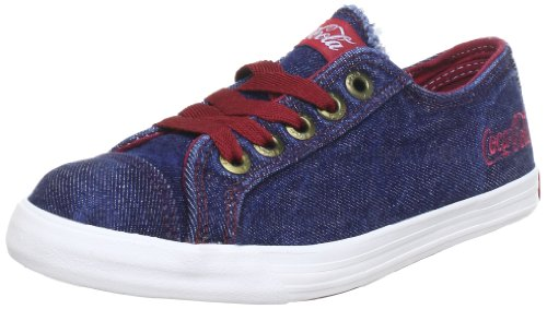 Coca Cola CC0153, Baskets mode mixte adulte Bleu (Blue Burgundy)