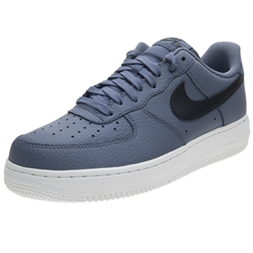 Nike Air Force 1 07, Sneakers Basses Homme Multicolore (Light Carbon/black-summit White 006)