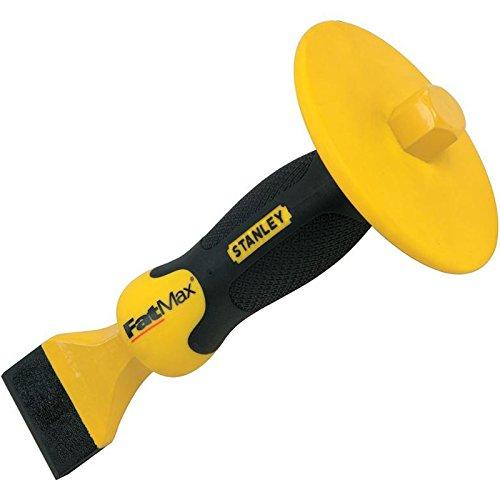 STANLEY 4-18-333 - Cincel de albanil boca ancha FatMax con Protector 45 x 215mm