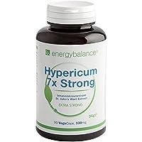 Johanniskraut Hypericum   7x Strong 330mg   Hypericin   Vegan   HACCP   Glutenfrei   GVO-frei   90 VegeCaps preisvergleich bei billige-tabletten.eu