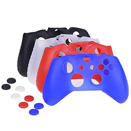 mudder-4-colores-siliconas-protector-para-mando-de-xbox-one-con-4-pares-de-agarres-pulgar