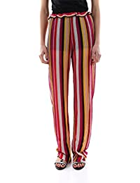 d0fcc35da978 Pinko Pantalone LIBERALE in Maglia A Righe Multicolor