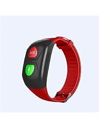 Pulseras Inteligentes para Personas Mayores SOS Pulsera GPS Smartband Frecuencia cardíaca Presión sanguínea Banda Inteligente Actividad Fitness Bandas