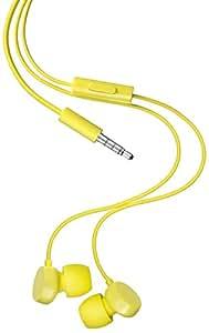 Nokia WH-208 Original Stereo Kopfhörer (3,5mm Klinkenstecker) gelb