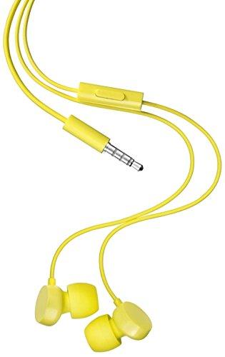 Nokia WH-208 Original Stereo Kopfhörer (3,5mm Klinkenstecker) gelb - 225-handys Lumia Nokia