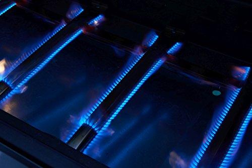El Fuego Gasgrill Bellevue, silber - 5