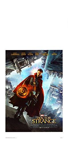 POSTER MANIFESTO LOCANDINA ORIGINALE CINEMA - Doctor Strange - Dimensione 33x70cm