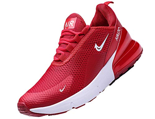 SINOES Herren Laufschuhe Fitness straßenlaufschuhe Sneaker Sportschuhe atmungsaktiv Rutschfeste Mode Freizeitschuhe