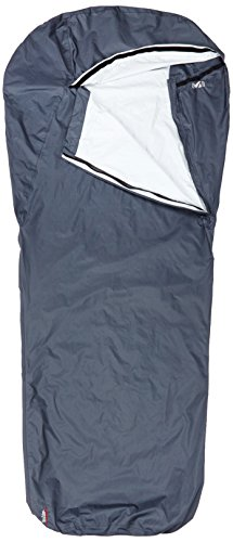 MILLET Mixed Bivy Sleeping Bag for Hiking, unisex, Bivy, Gris/Asphalt, Taille U